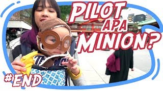Video PILOT APA MINION NIH SI BABY EL HAHAHA - Japan Vlog #9 end MP3, 3GP, MP4, WEBM, AVI, FLV Juli 2018