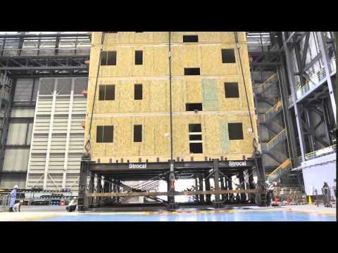 condominio di 7 piani in legno resiste ad un sisma di 7,5