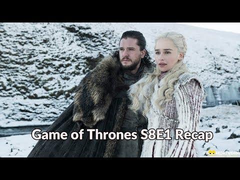 Game Of Thrones Season 8 Episode 1: Recap & Review!!!!