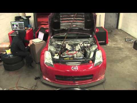 372whp 350z, ITBs, Head Porting, Longtube Headers