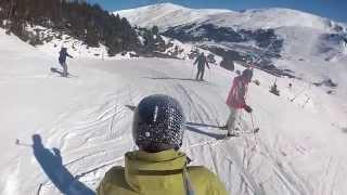 Soldeu Andorra  city images : Skiing in Soldeu, Andorra, 2014