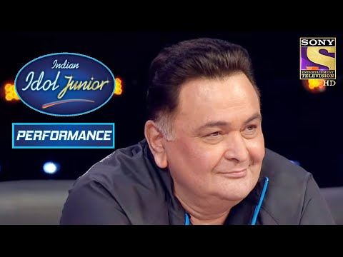 Vaishanav's Bold Performance Impresses Rishi Kapoor! | Indian Idol Junior 2