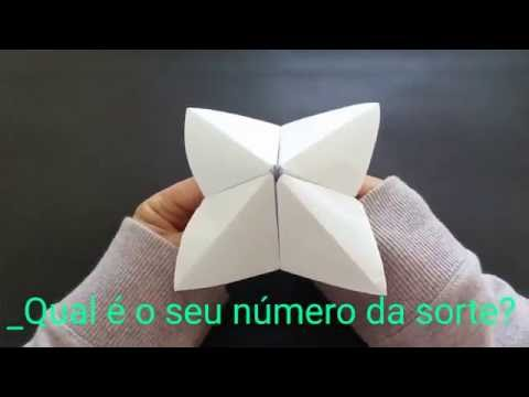 Origami da sorte
