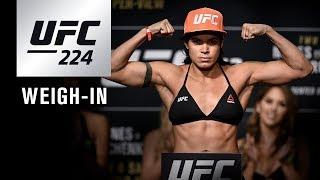 Video UFC 224: Weigh-in MP3, 3GP, MP4, WEBM, AVI, FLV November 2018