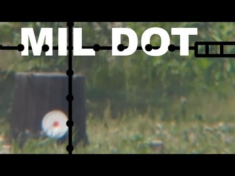 Mil Dot Target Shooting - Range Estimation