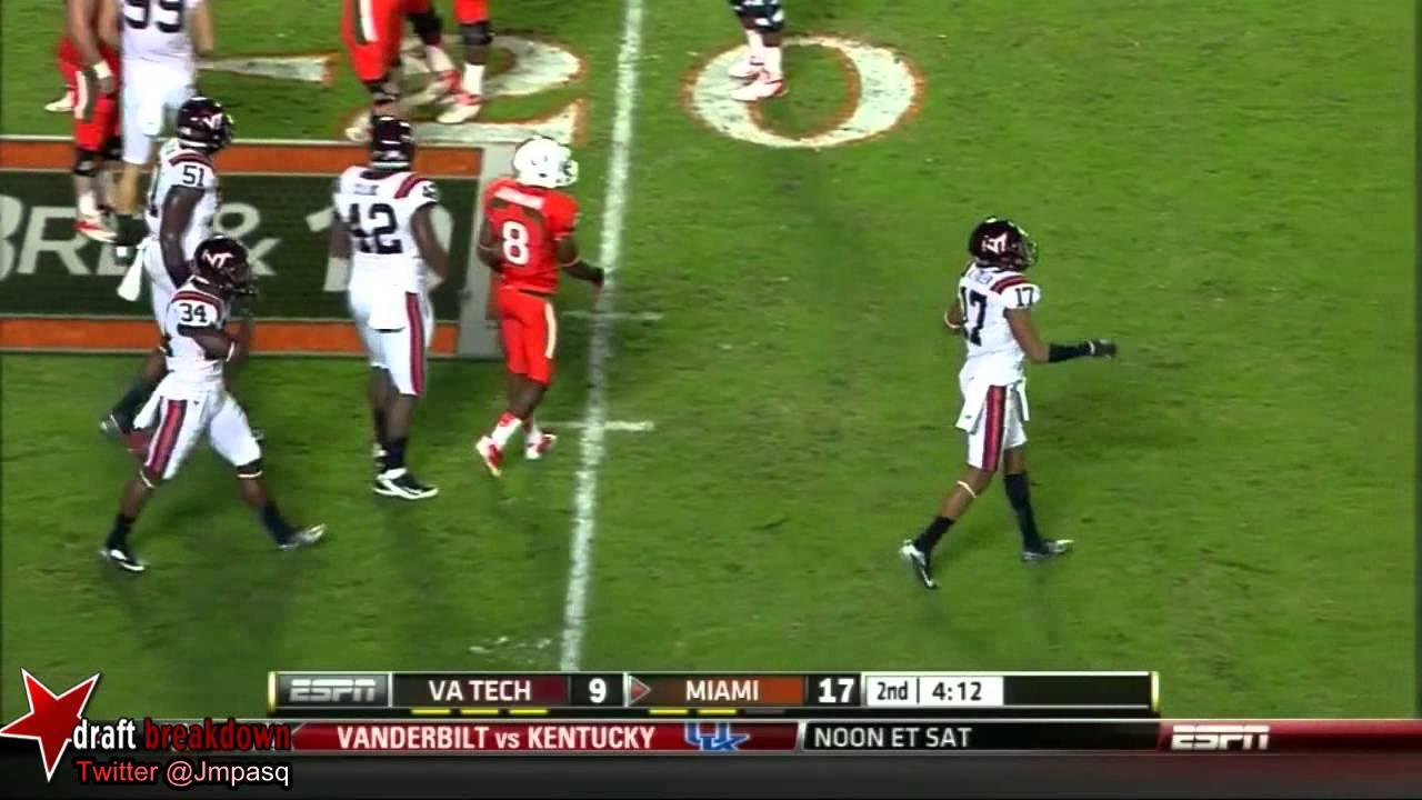Seantrel Henderson vs Virginia (2012)