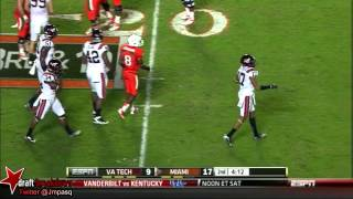Seantrel Henderson vs Virginia (2012)