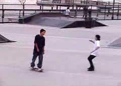 Julian Verdeguer: Kickflip- Hoboken Skatepark