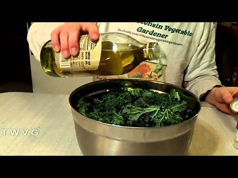 Making Kale Chips The Wisconsin Vegetable Gardener Extra 24
