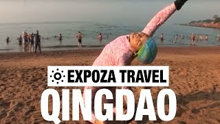 Qingdao China  city pictures gallery : Qingdao Beach (China) Vacation Travel Video Guide
