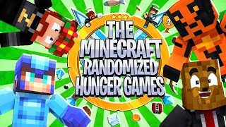 The Minecraft Randomized Hunger Games! #8 - Minecraft Modded Minigames | JeromeASF