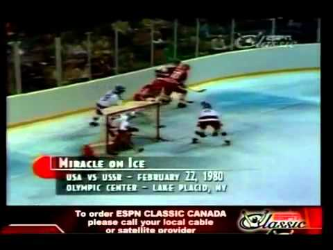 US 1980 Olympic Hockey Miracle Movie - Last Minute Of USA Vs USSR