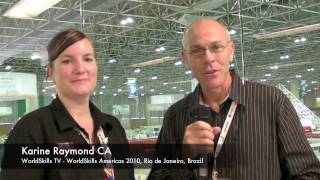 WorldSkills Americas, Karine Raymond interview