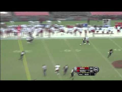 Marquess Wilson vs San Diego St. 2011 video.