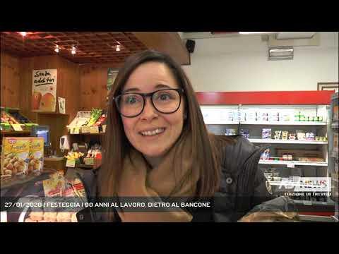 27/01/2020 | FESTEGGIA I 90 ANNI AL LAVORO, DIETRO AL BANCONE