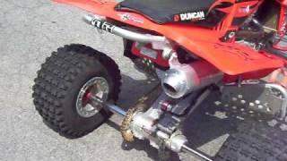 9. 2006 Honda TRX450ER Race ready Must see Duncan racing