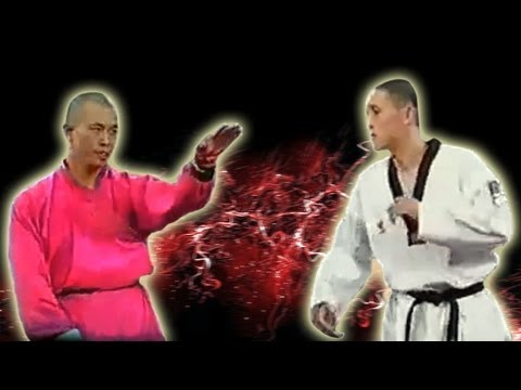 Monk - The BEST QUALITY on Youtube!! HD Original Quality (With Sound) Here we see clearly, the full fight between a Shaolin Monk & TKD Master. Please leave a 'Like'...