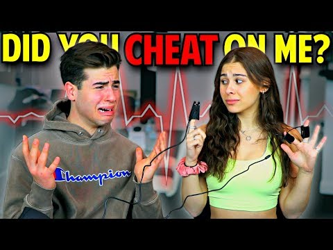 LIE DETECTOR TEST On GIRLFRIEND! **she lied to me**