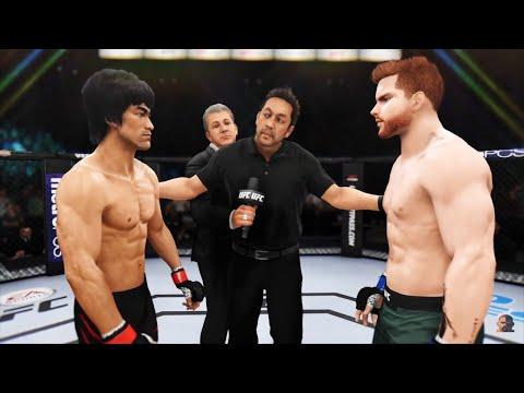 BRUCE LEE vs CANELO ALVAREZ EA Sports UFC 3 (видео)