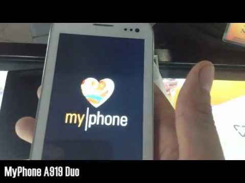 MyPhone A919 Duo - Hands on