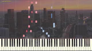 Blues Of Sky (Jazz) (Ноты и Видеоурок для фортепиано) (piano cover)