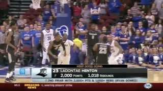 LaDontae Henton Scores 2,000