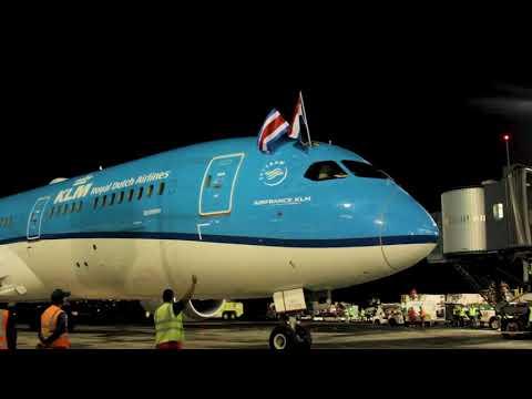 KLM volará directo entre Ámsterdam y San José
