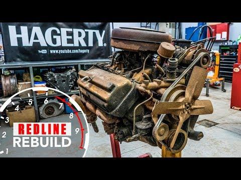 Vanhan moottorin entisöinti