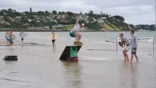 Frankston Australia  City pictures : Skimboarding Australia - Frankston Flatland Demo 2012