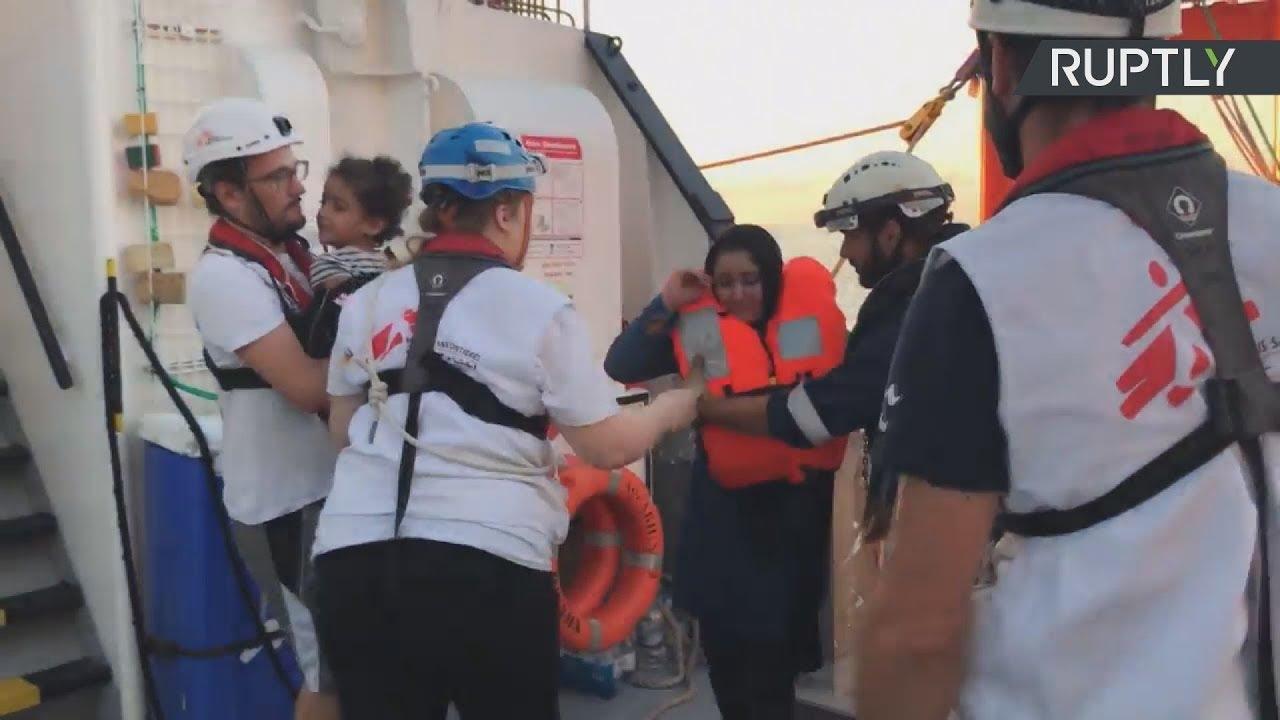 Πάνω από 500 μετανάστες διασώθηκαν στη Μεσόγειο το Σαββατοκύριακο