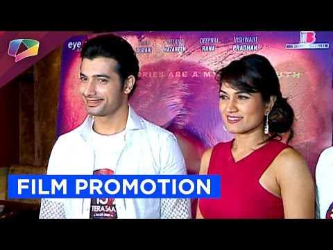 Sharad Malhotra promotes his film by cooking
