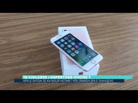 18 vjeçares i shpërthen iPhone 7 (Video)