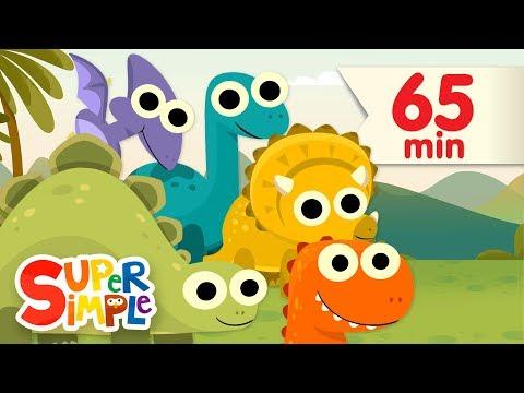 10 Little Dinosaurs + More | Kids Songs | Super Simple Songs
