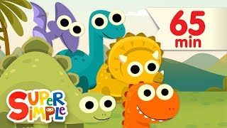 Video 10 Little Dinosaurs + More | Kids Songs | Super Simple Songs MP3, 3GP, MP4, WEBM, AVI, FLV Juli 2017