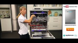 new and improved samsung waterwall dishwasher dw60h9950fs reviewed by expert appliances online