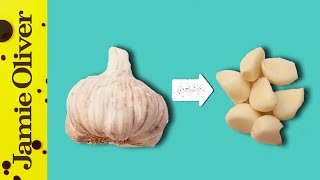 How To Easily Peel Garlic | 1 Minute Tips | Jamie Oliver by Jamie Oliver