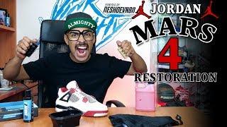 Video Air Jordan 4 Mars Restoration Tutorial with Vick Almighty MP3, 3GP, MP4, WEBM, AVI, FLV Desember 2018