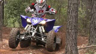 1. 2010 Yamaha YFZ450X in the Woods