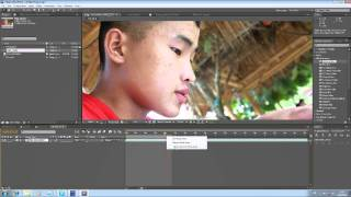 สอน After Effects Tutorial:1: Smooth Skin Or Retouch (by Nipan)