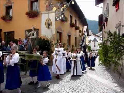 Kastelruther Kirchtag und Fronleichnamsprozession