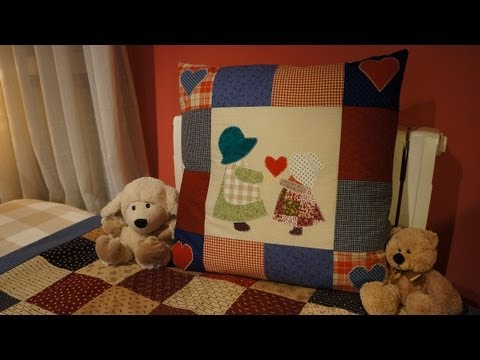 tutorial patchwork - come realizzare un cuscino