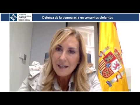 Ana Beltrán reconoce, en una conferencia de la Universidad Francisco de Vitoria, el mérito y el trabajo de los militantes del PPN