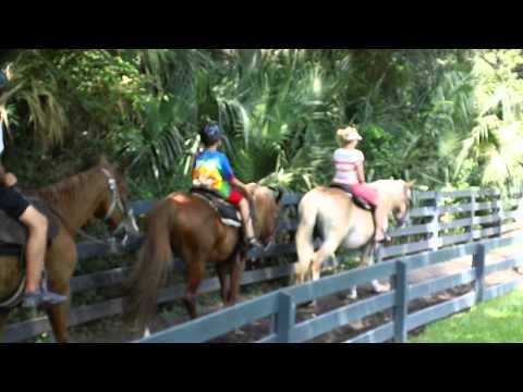 Horseback Riding in Hilton Head 2011 - Part 2 of 3