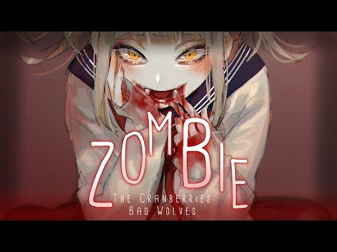 Video ◤Nightcore◢ ↬ Zombie [lyrics | BAD WOLVES COVER] download in MP3, 3GP, MP4, WEBM, AVI, FLV January 2017
