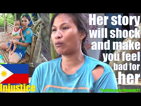 The Husband of This Beautiful Filipina Woman Works Hard but Doesn't Get Paid with Money. In POVERTY
