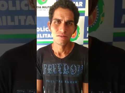 Suspeito confessa que os atos criminosos foi por represália a PM de Mineiros (GO)