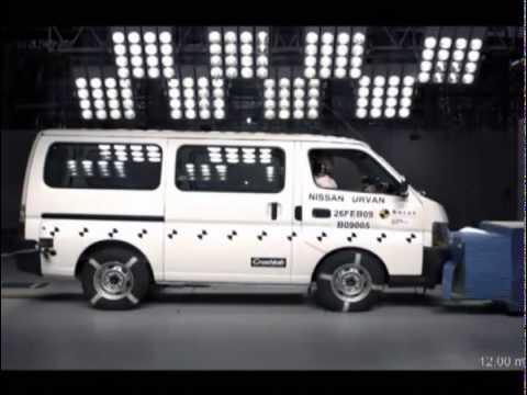 2008 Nissan Urvan/Caravan ANCAP Frontal Impact