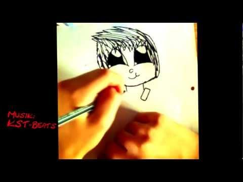Mangakind mit leuchtenden Augen zeichnen Tutorial (für Zeichennoobs wie mich)