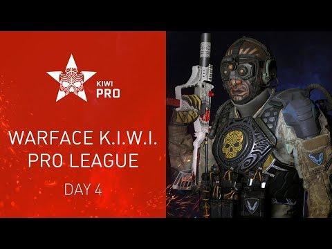 Warface K.I.W.I.: Pro League. Day 4