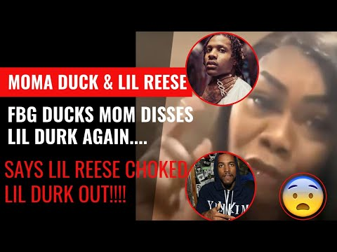 LIL Reese & Moma Duck Argue on Social Media! FBG Duck's Mom Claims Durk Got Choked Out & FEDs Coming